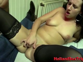 Euro hooker licked by old guy