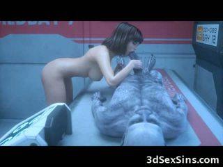 La 3d zombie sexperiment!