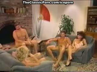 Dana lynn, nina hartley, ray victory in vintage porno film