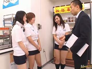 Japanska av modell i en piss video-