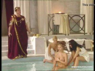 Gara widow katalin and rita faltoyano bathe together before a ýüzüne dökülen