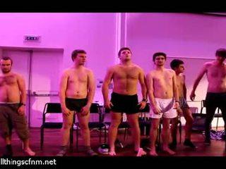 Full Monty Strip By Hypnotized College Guys