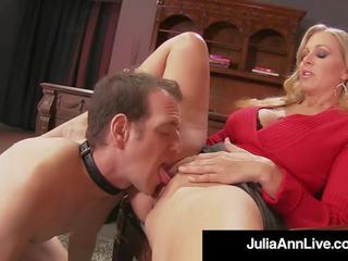 Mama dearest julia ann punishes sie junge spielzeug wenn er gets