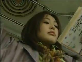 Japonesa lésbica autocarro sexo (censor.