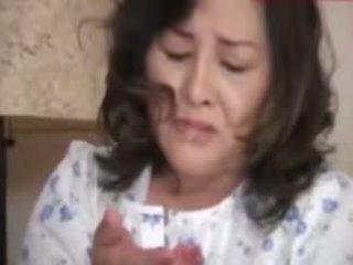Japanesebbw suaugę motina ir ne jos sūnus