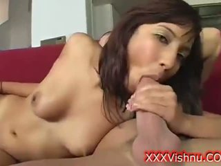 Very sexy young indian babe sucking cock