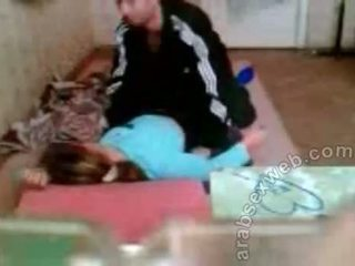 Arab Couple Fucking On The Floor Private Sex Video