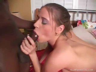 interracial, porno to není hd, penis je velký pro holky