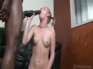 oral seks görmek, redhead sıcak, taze ırklararası
