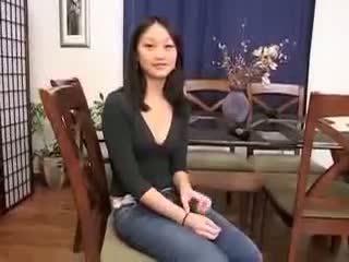 Chinesisch mädchen evelyn lin erste zeit anal