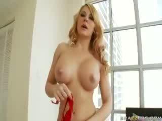pornografía, grande, coño
