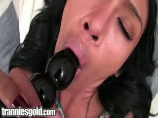 Tranniesgold doll transsexual Seduction.p2