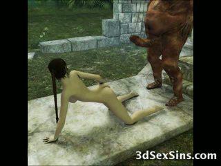 3d aliens dan demons fuck kanak-kanak perempuan!
