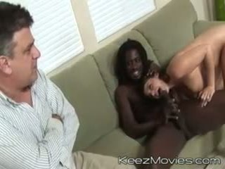 Natasha Nice - Oh No! There's a Negro in My Daughter 3 - Scene 1 - Chatsworth pictures