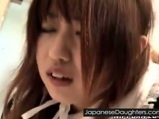 젊은, 일본의, 수음을하다