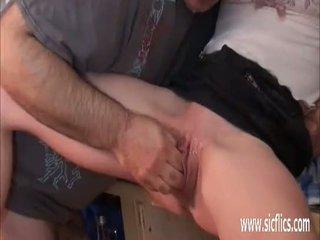 tineri, orgasm, căscat