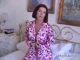 Barbara 53 years early morning sex in pajamas Video