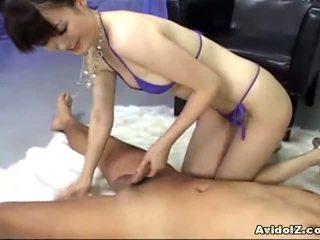 Ai himeno loves titi manunukso at group masturbation