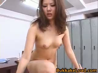 Aya matsuki কামাসক্ত এশিয়ান পুতুল enjoys যৌন part1