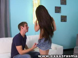 Exxxtrasmall קטנטונת נוער lacie channing רטוב כוס banged