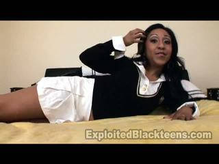 100 Ebony Teen Spinner Like Mad In Point Of View Mov