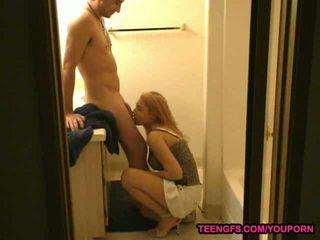 Bad BF gets a cumshot for punishment