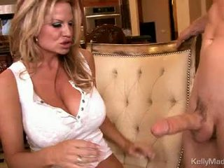 Betje eje kelly madison takes a fleshy pipe up soaked slot