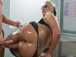 Awesome Milf Sadie Swede Shaged In The Ass