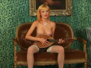 Blondīne virgin strips