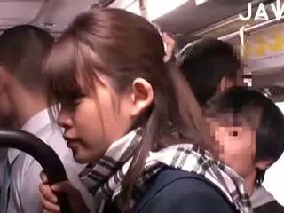 brunetka, japoński, dziecko