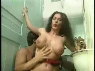 Erika anal in the bathroom