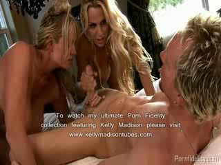 Holly Halston Tied Gagged and Fucked By Busty Friend Kelly Madison