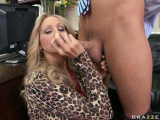 A poslovni lady giving glava