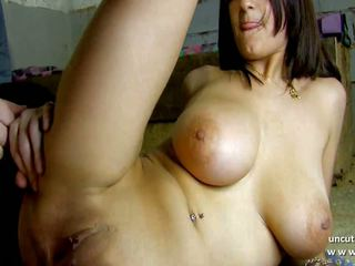 Gorgeous Busty French Babe Hard Fucked and Facialized