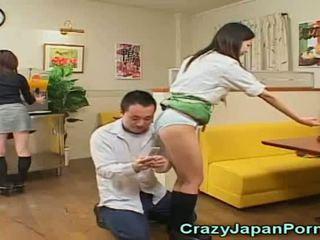seins, jeune, japonais