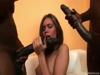 group sex, blowjob, interracial