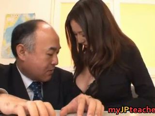 Busty Japanese Teacher