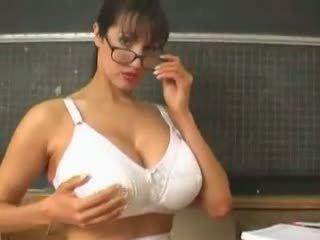 Rukhsana Teacher Play with Her Big Boobs, Porn 64