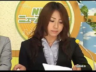 Japońskie newsreaders ayumu sena i fuuka minase squirting l
