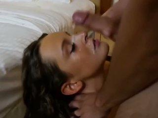 brunette, orale seks