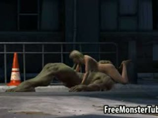 Foxy 3D Blonde Babe Gets Fucked Hard By The Hulk