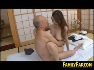 giapponese, vecchio + giovane, feticcio