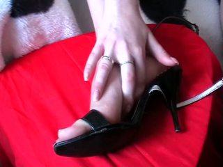 Jalkatyöpaikka kumulat kenkiä video-