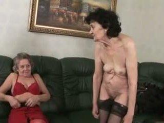 লেসবিয়ানদের, grannies, matures
