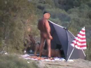 секс, оргия, camping