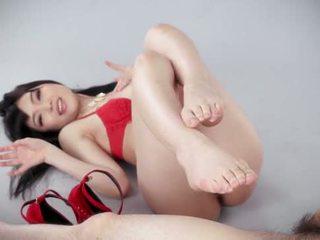 japanese, girl, footjob
