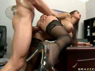 big tits, office, office sex
