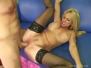 性交性爱, 口交, 金发