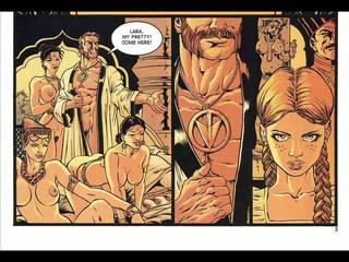 dessins animés, bandes dessinées, bdsm art
