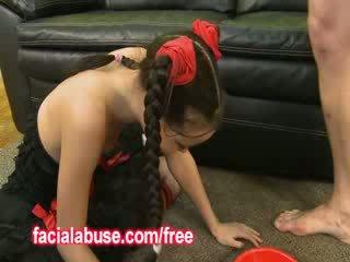 Malé hlboké throat ázijské prostitútka loves being shared